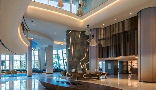 Jumeirah Beach Hotel reopens after major renovation.