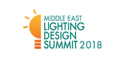 Faysal Al-Haffar speaks at the Middle East Lighting Design Summit 2018.