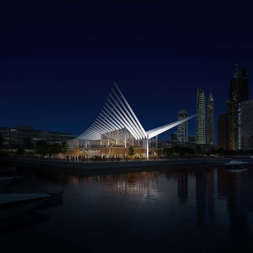 Dubai Harbour Masters Building