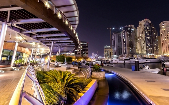 Dubai Marina Yacht Club Umaya Lighting Design