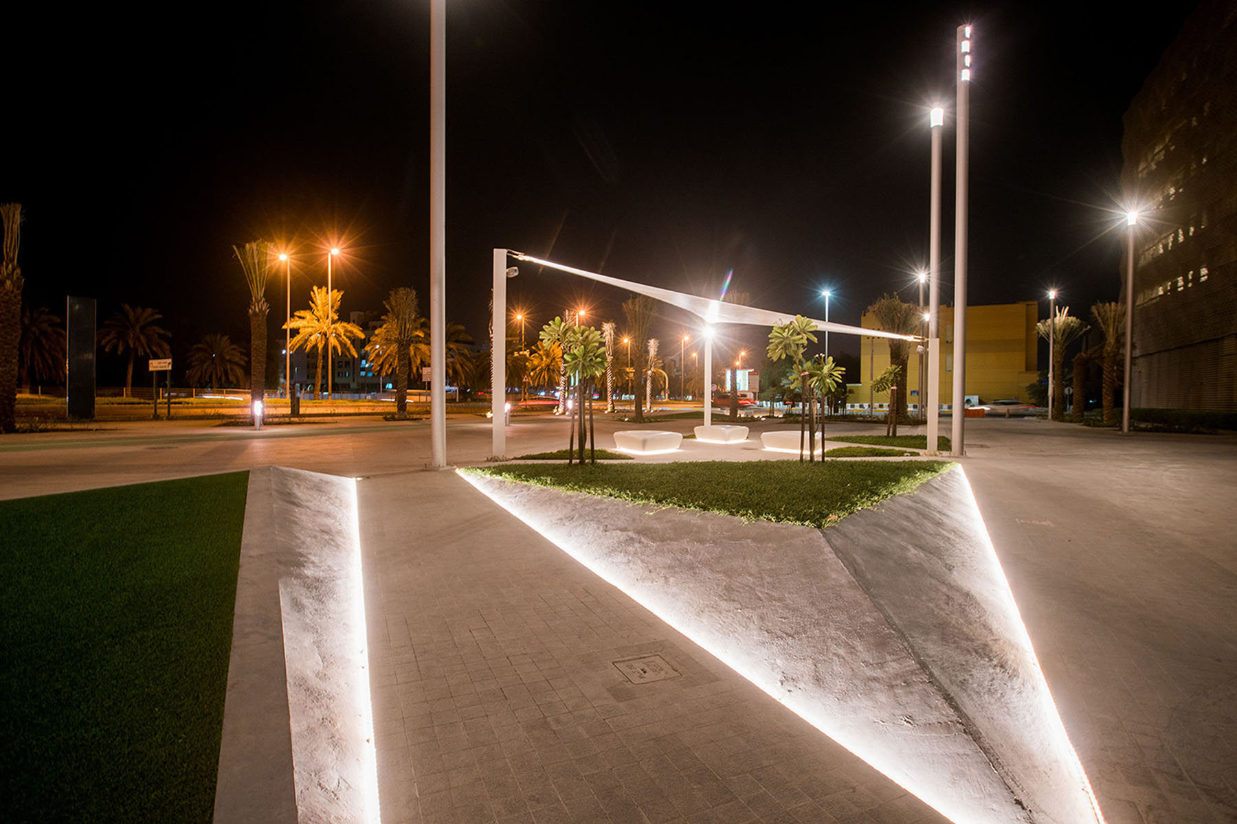 Khalifa University Umaya Lighting Design